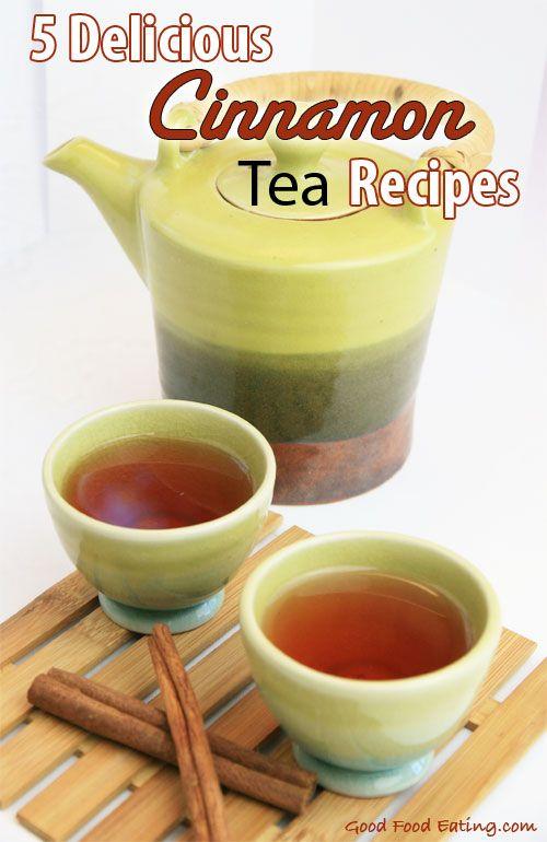 5 Delicious Cinnamon Tea Recipes