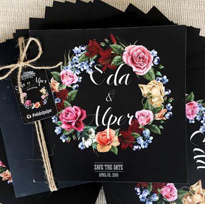 Kişiye Özel Düğün ve Nişan Davetiyesi                                 <br>                                 Fiyat bilgisi ve sipariş için nazli@adamavva.com
