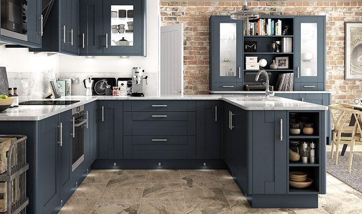 Milton Midnight Kitchen | Wickes.co.uk