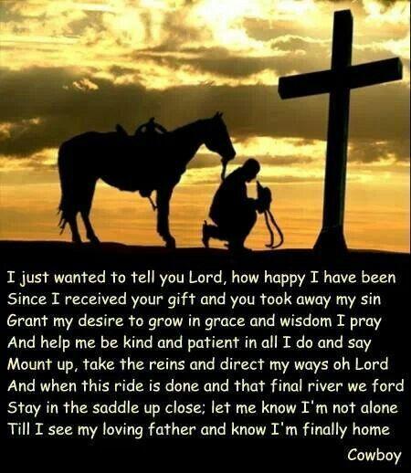 Cowboy Prayer Quotes Pinterest Cowboys Prayer And Cowboy Prayer