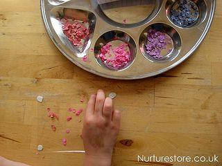 Hole punch art by www.nurturestore.co.uk