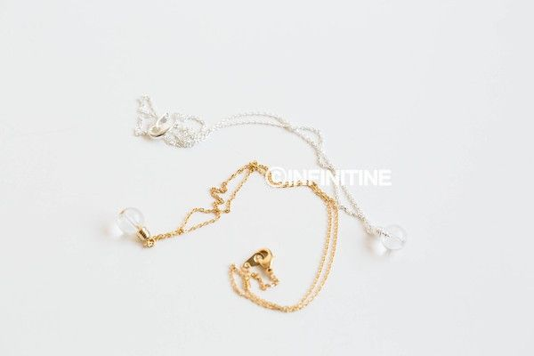 Bulb necklace,N168K
