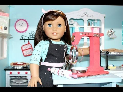 How to make American Girl Doll Pies - YouTube