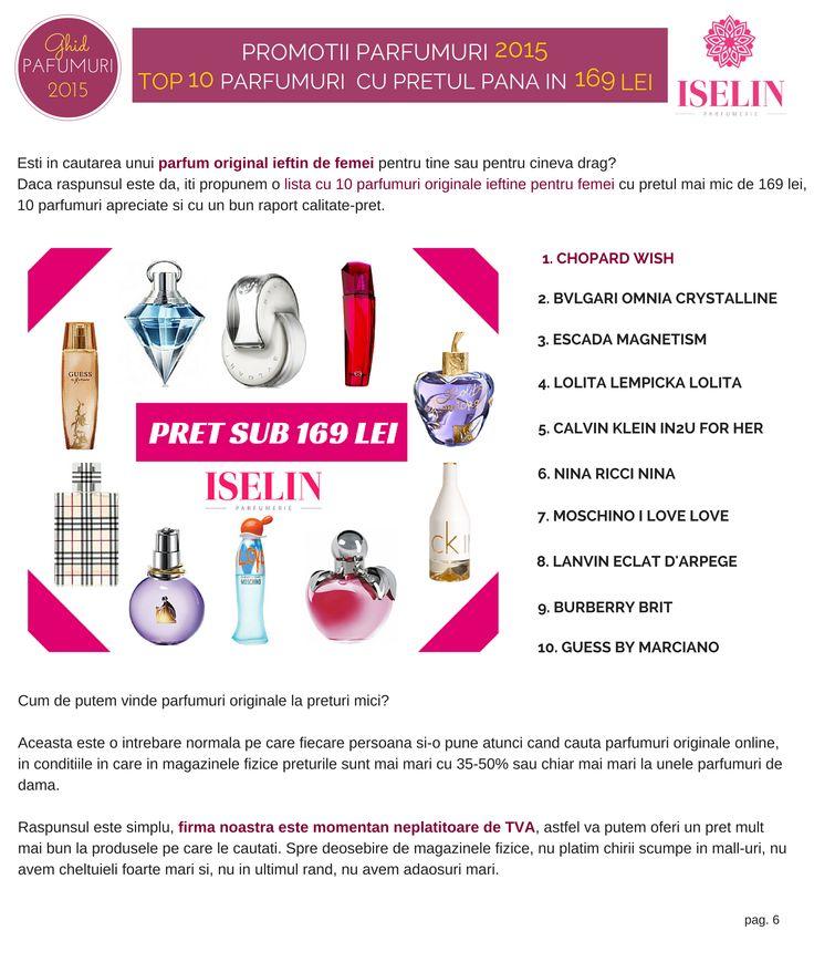 10 Parfumuri Originale ieftine pentru femei pana in 169 lei - http://blog.iselin.ro/recenzii/99-10-parfumuri-originale-ieftine-pentru-femei-pana-in-169-lei.html