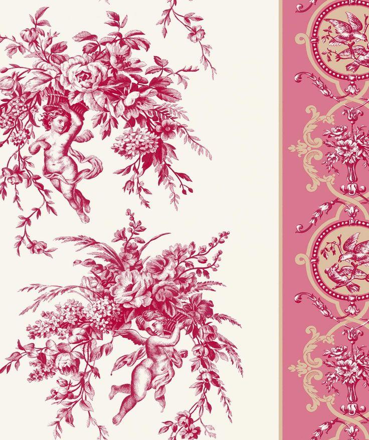美しい18世紀のデザイン、トワルドジュイ フランスの伝統