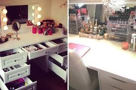 vanity room mirrors brushes make up - Google Search