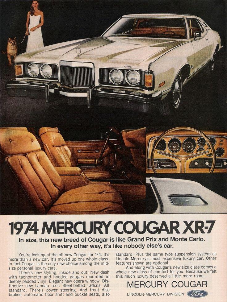 1974 Car Advertisements...