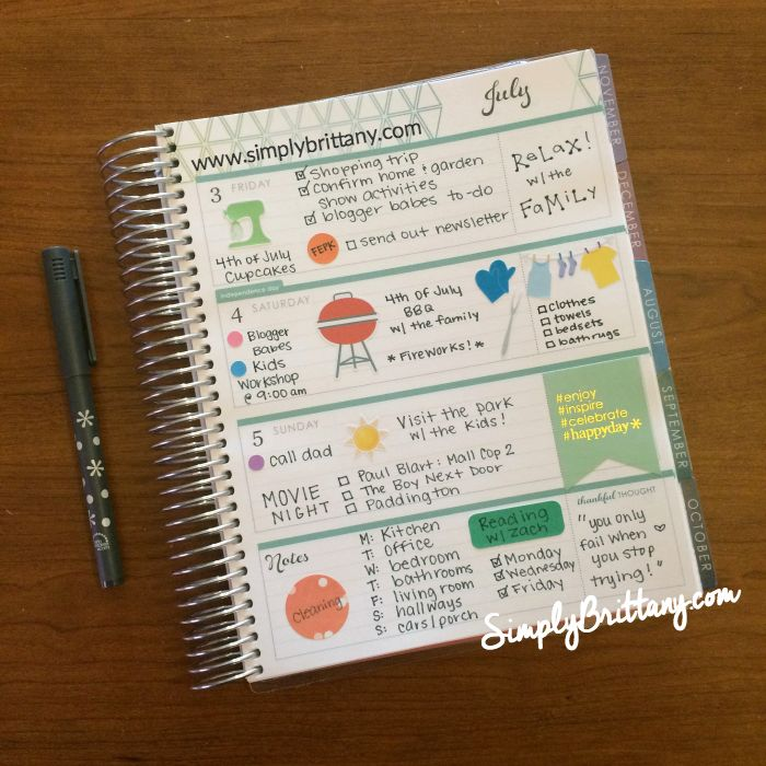Planning in your Erin Condren Life Planner can be made FUNctional with Planner Press stickers.