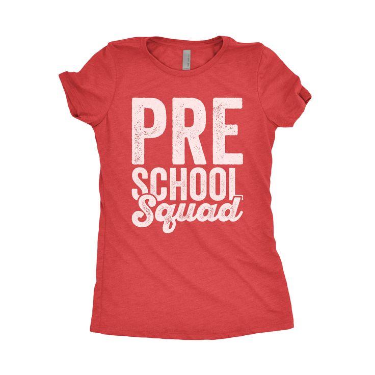 Preschool Teacher Shirts - T Shirt Design Database