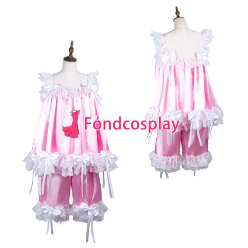 Sissy maid satin shirt and short pants Uniform cosplay costume Tailor-made[G3725] #Sissy maids http://www.ku-ki-shop.com/shop/sissy-maids/sissy-maid-satin-shirt-and-short-pants-uniform-cosplay-costume-tailor-made-g3725/