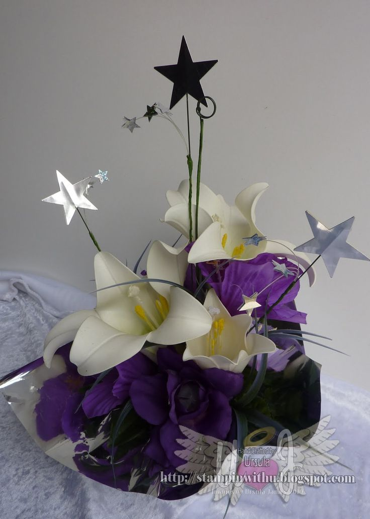Moon And Stars Centerpieces   Star Of The Night Flower Box Table Decoration