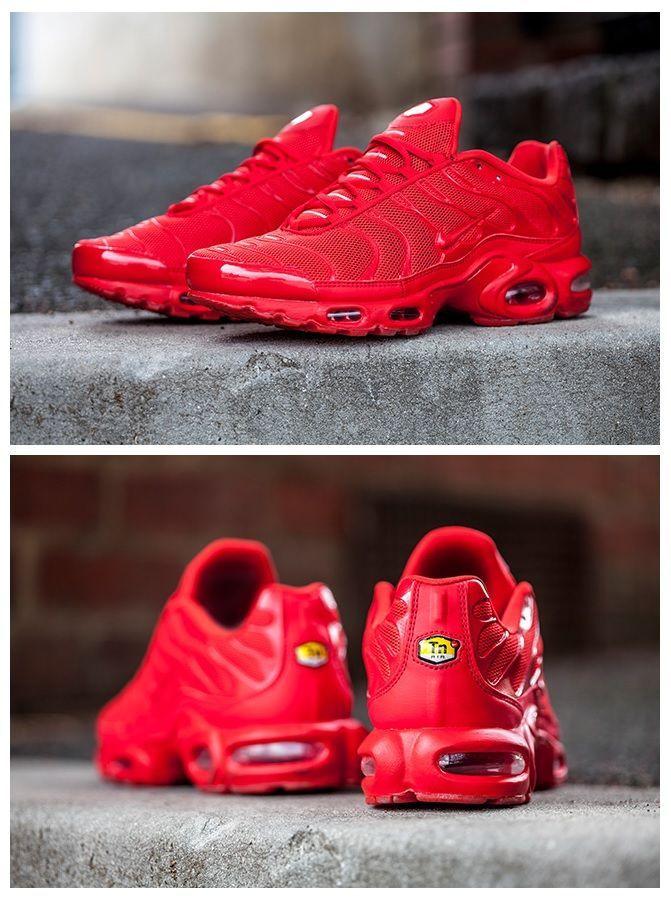 Nike Air Max Plus Getunt 1 Lava Rot Schuhe Sneakers Fashion Nike Free Shoes Sneakers Men Fashion