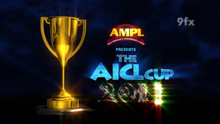 Logo Design, 3d animation show opener for Aicl cup 2014 Award function