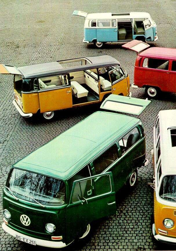 Vw campervans I REALLY want one of these for any camping I do.  Why not VW?