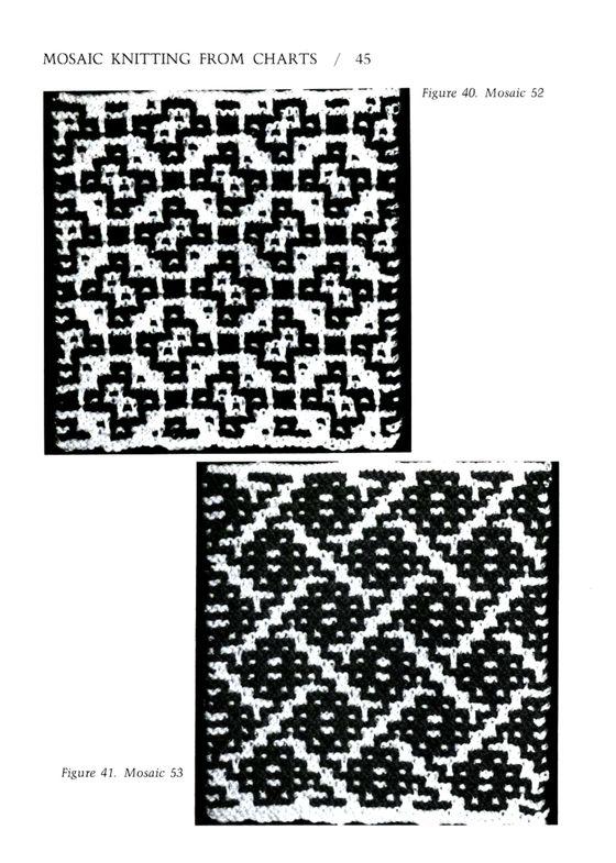 Mosaic Knitting Barbara G. Walker (Lenivii gakkard) Mosaic Knitting Barbara G. Walker (Lenivii gakkard) #50