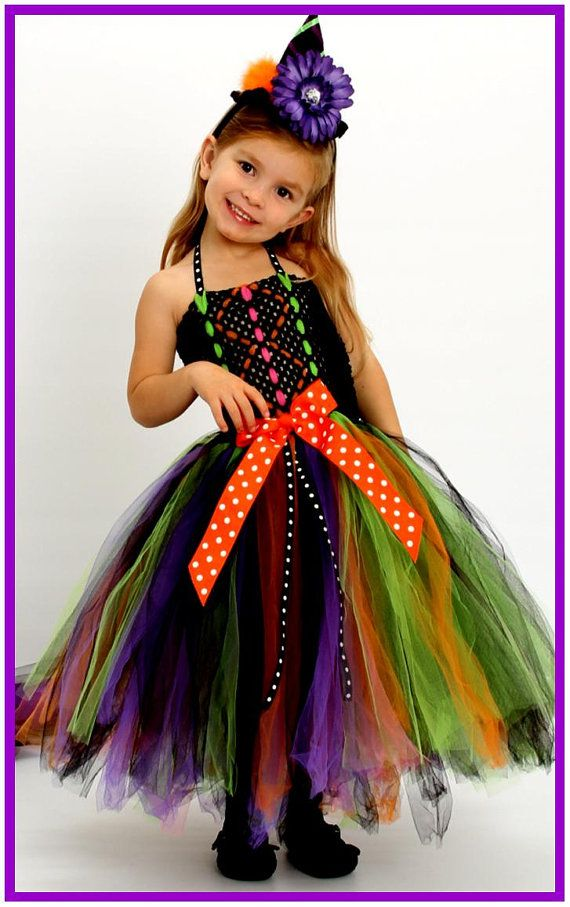 Wicked Witch Halloween Costume Tutu Dress and by BlissyCouture, $90.00