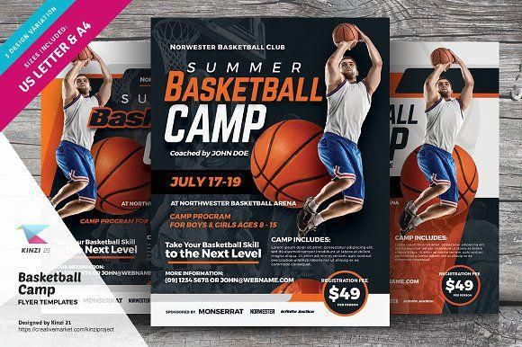 basketballcamps louisville basketball pinterest flyer template