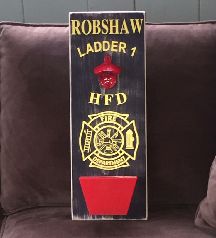 Firefighter Gift Police Officer Gift Law Enforcement Thin Blue Line Thin Red Line Bar Sign