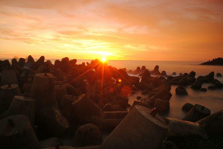 Glagah beach