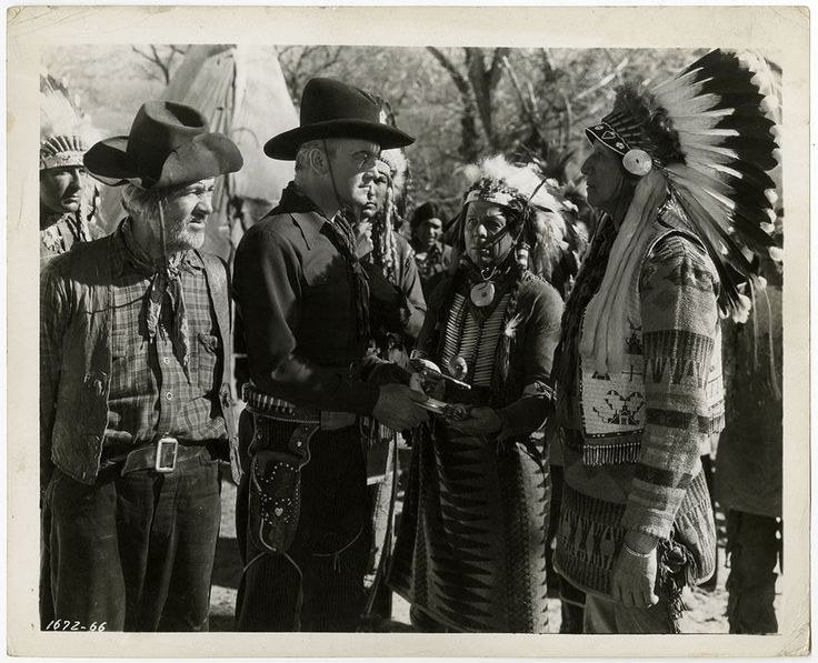 Hills of Old Wyoming - William Boyd, Gabby Hayes photograph