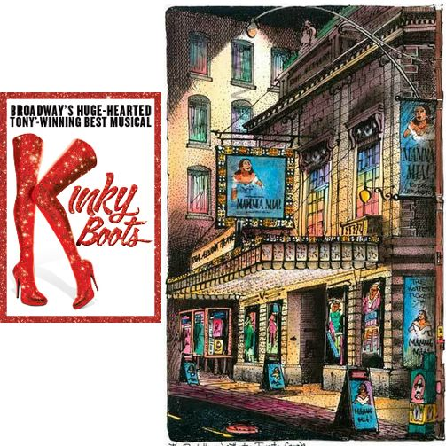 TONIGHT at The Royal Alexandra Theatre is Kinky Boots. http://ow.ly/Wi5Cz