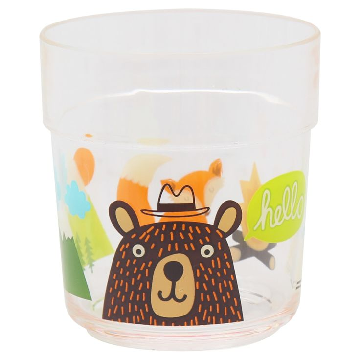 Bear Decal 9.5 oz Short Plastic Tumbler - Pillowfort,