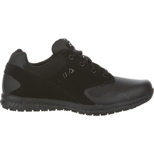 Fila Women's Memory Layers Work Shoes (Black, Size 9.5) - Women's Work Boots Shoes at Academy Sports