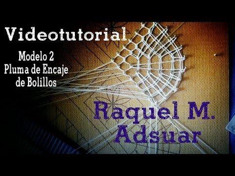 008 Punto de Espíritu - Guipur Cuadrado. Curso Encaje de Bolillos - Raquel M. Adsuar Bolillotuber - YouTube