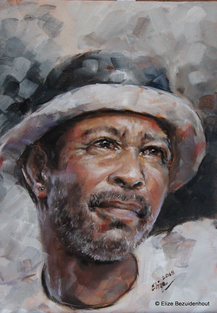 Oil painting done by Elize Bezuidenhout