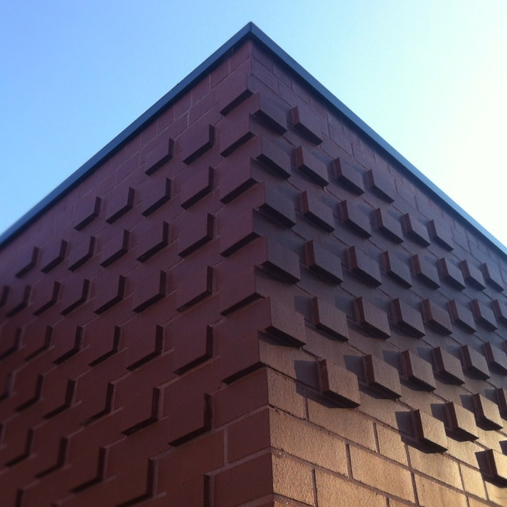Brookvale Oval | Smith & Tzannes Architects | brick detail