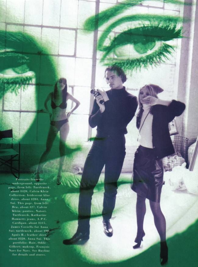 It's the fashion factory   by Peter Lindbergh, for Harper's Bazaar, c.1995