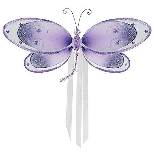 """The Butterfly Grove Avery Dragonfly Curtain Tieback, Purple Wisteria, Small, 7"""" x 5"""" The Butterfly Grove http://www.amazon.com/dp/B00586QUQ4/ref=cm_sw_r_pi_dp_81THwb01DA894"""