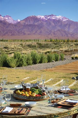 Valle de Uco, Mendoza, Argentina - dream vacation