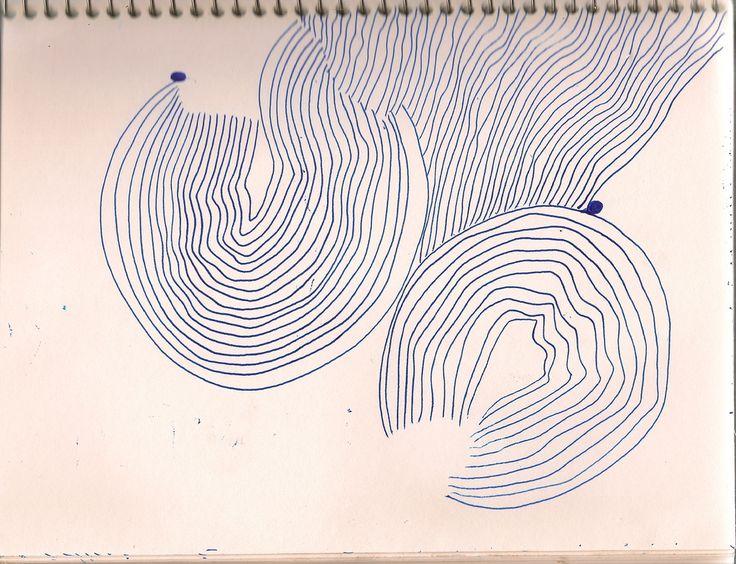 https://flic.kr/p/7BV4mx | line drawing | art journal, visual diary, sketchbook, illustration