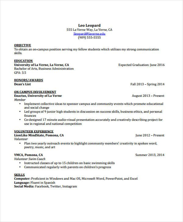 Curriculum Vitae Template Free Download South Africa Free Cv Templates Jobfishing Download Cv: Cv Template Student, Cv Template, Templates