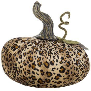 Velvet Leopard Pumpkin