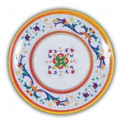 Picnic Ricco Deruta 16 Plate Set u2022 Bring the beauty of Italian Pottery outdoors with our  sc 1 st  Pinterest & 11 best u2022 Unbreakable Dinner Plates u2022 images on Pinterest   Dinner ...