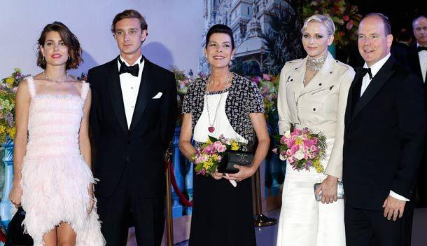 the Monaco royal family