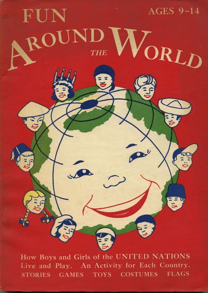 Fun around the world, 1955 - Book cover
