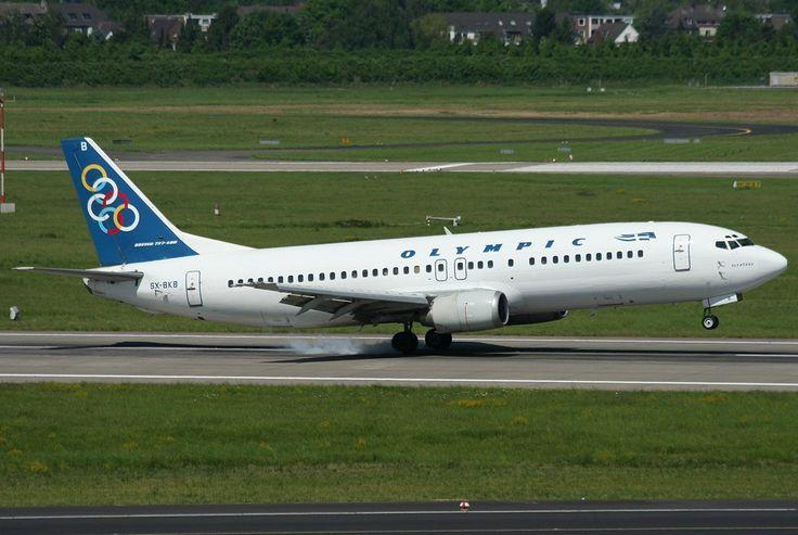 Olympic Airways B 737-484 (Olynthos) [SX-BKB]