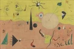 Joan Miro - 'The Hunter (Cataland Landscape)' (1924) Abstract
