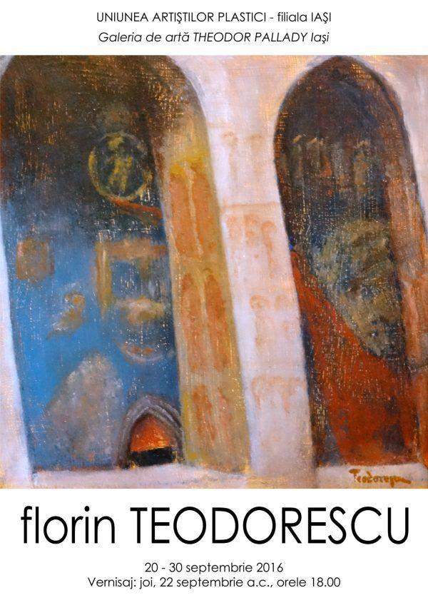 Expozitie de pictura semnata Florin Teodorescu