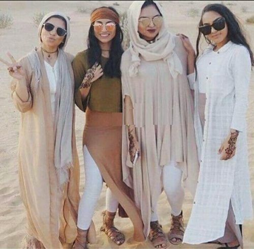 Safari hijab style – Just Trendy Girls