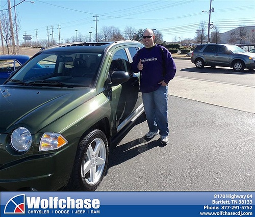 Congratulations to David Fulcher on the 2008 #Jeep #Compass
