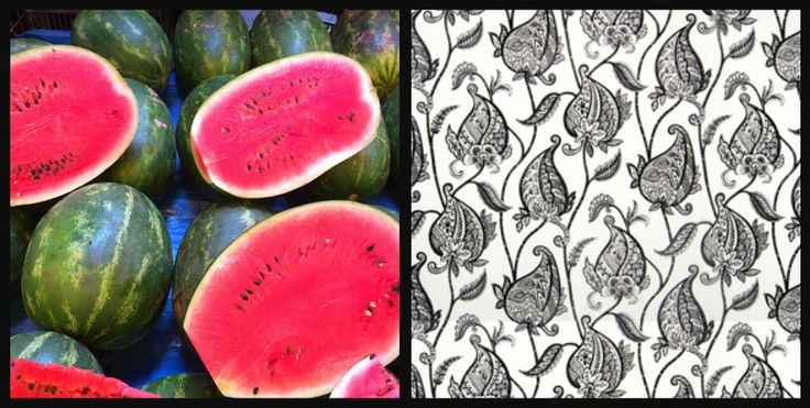 3 Day Blinds Watermelon Day Fabric