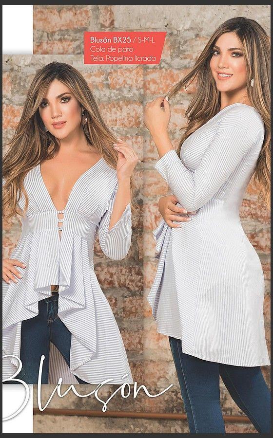 b194d4916 Blusa Colombia Moda BX25 in 2019 | Nueva Coleccion Junio 2018 | Blusas  juveniles moda, Blusas, Ropa de moda