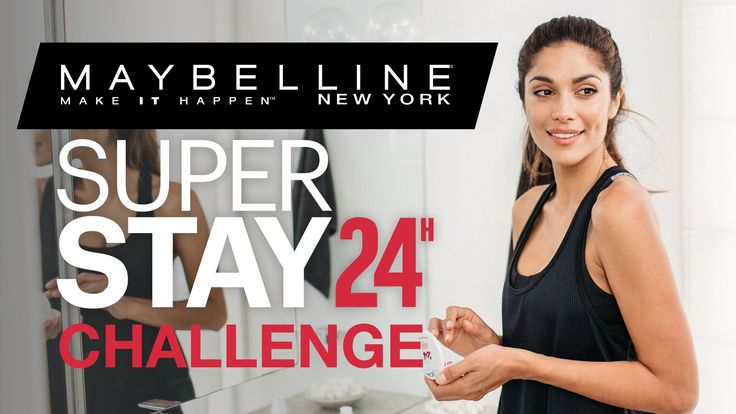 Foundation That Stays Flawless All Day! Discover Superstay 24hr by Maybe...