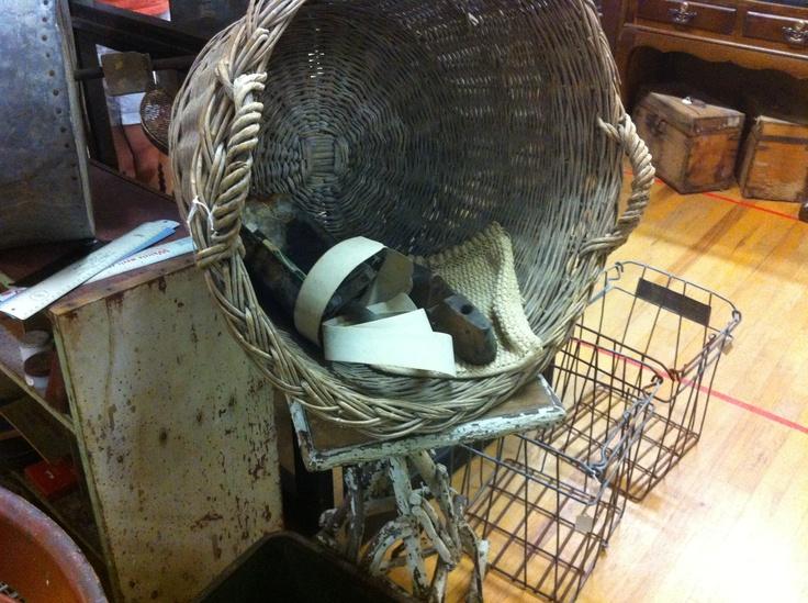 I LOVE baskets... never discriminate woven, wood, metal, LOVE