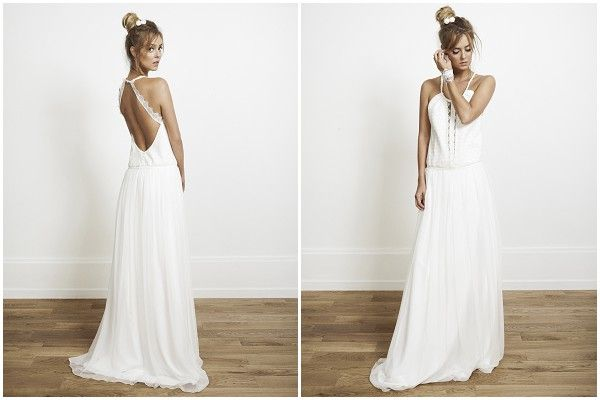 cross over back weddingdress