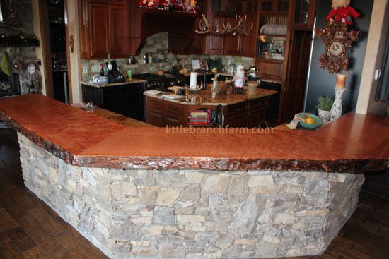 1000 Images About Live Edge Islands On Pinterest Red
